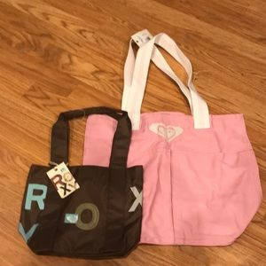 2 Roxy Bags NWT Dimensions Shown in pictures